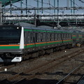 Photos: 高崎線E233系3000番台 L06編成他15両編成