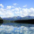 写真: アラスカ キーナイ川上流の湖