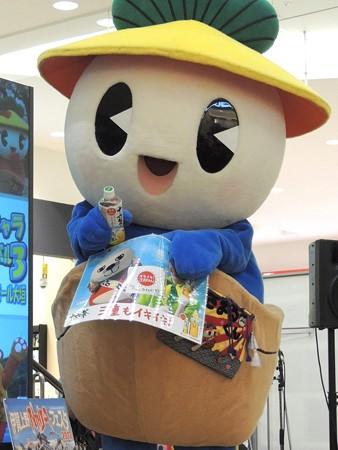 いが☆グリオは十六茶の三重県代表でした。