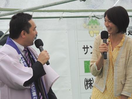 鈴木知事はトークも上手です。