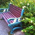 花のベンチ(デジハリ)