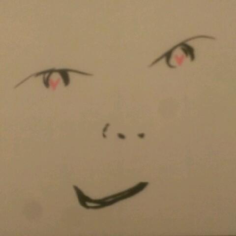 目は口ほどに、ハートマークで