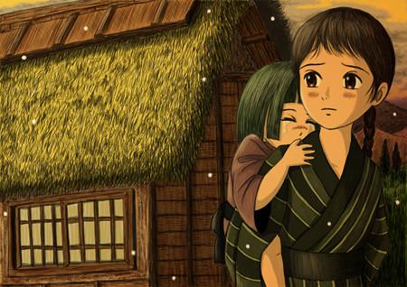 篠笛楽譜(無料)65「竹田の子守唄」京都地方民謡