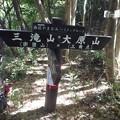 大原山への分岐に到着10:23
