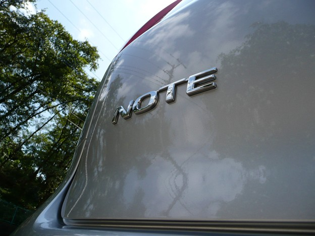 Photos: NOTE エンブレム
