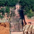 Photos: 楽山大仏(弥勒菩薩);Leshan Giant Buddha was Maitreya.