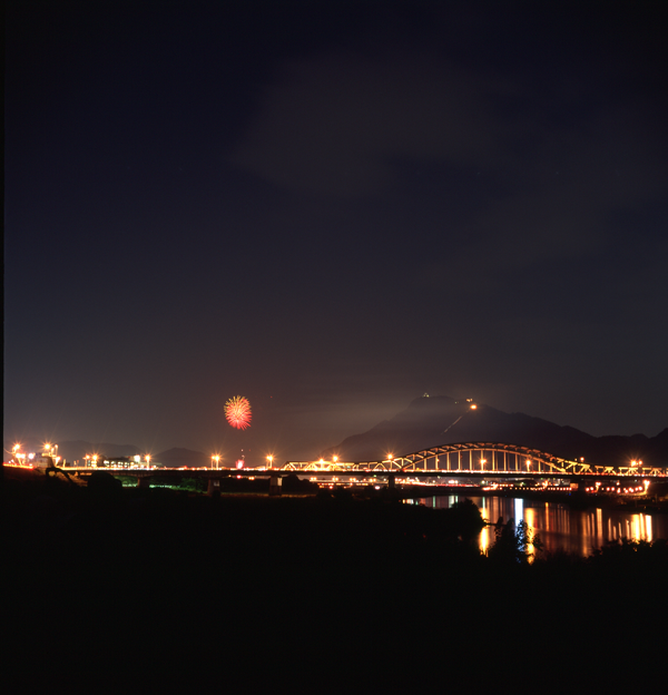 写真: 長良川花火大会