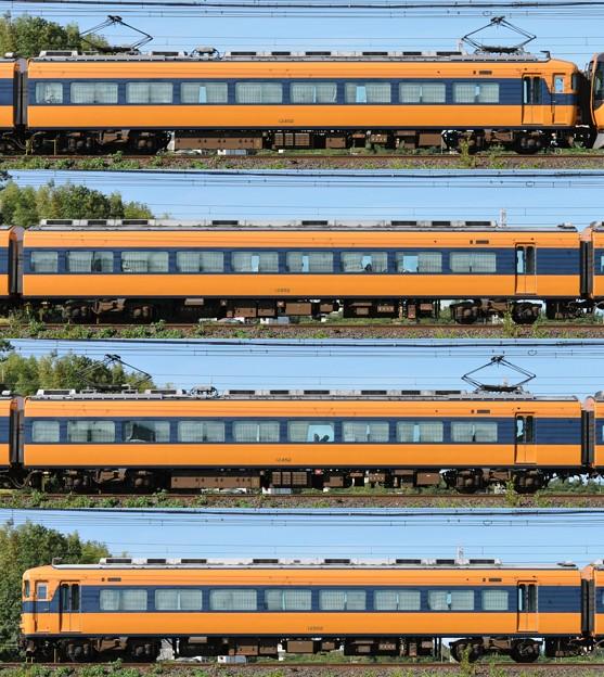 近鉄12400系12402F(NN02)山側側面 2012.08.23