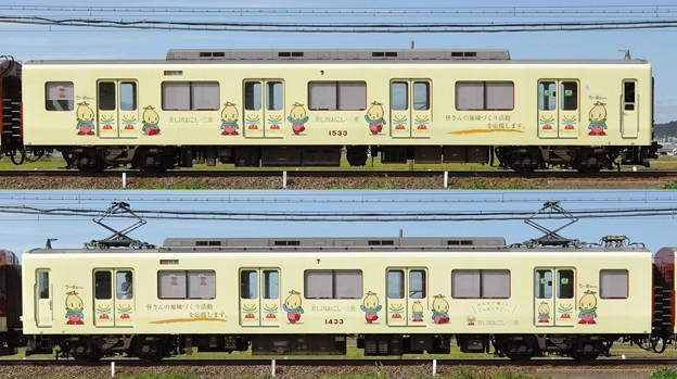 近鉄1430系1433F(VW33)山側側面 2012.10.12