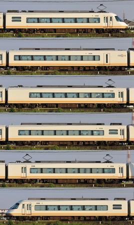 近鉄21000系21107F(UL07)山側側面 2012.10.15
