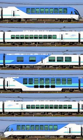 近鉄50000系50101F(SV01)山側側面 2013.11.16