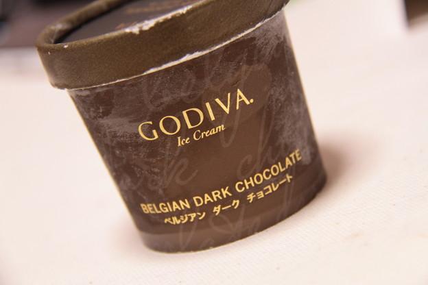 GODIVA Ice Cream BELGIAN DARK CHOCOLATE(ゴディバ アイス クリーム ベルジアン ダーク チョコレート)1