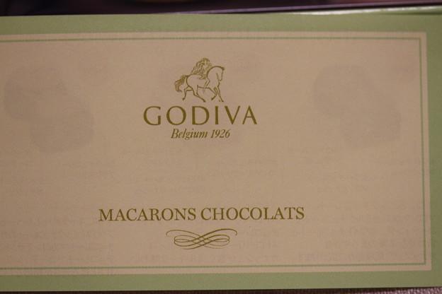 GODIVA MACARONS CHOCOLATS(ゴディバ マカロン チョコレート)箱