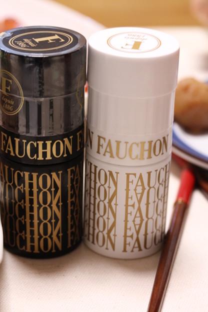 FAUCHON ミル付 ブラックペッパー&岩塩