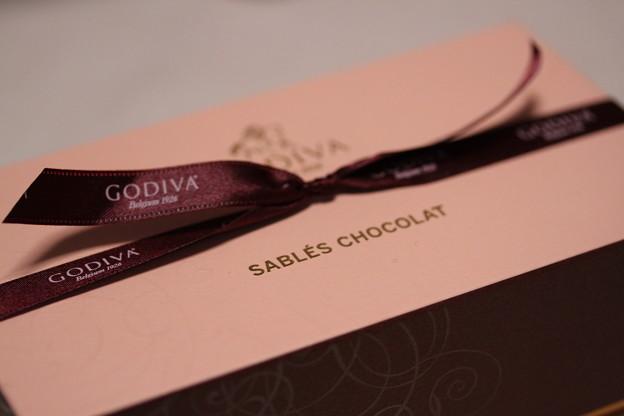 GODIVA SABLES CHOCOLAT(ゴディバ サブレ ショコラ)