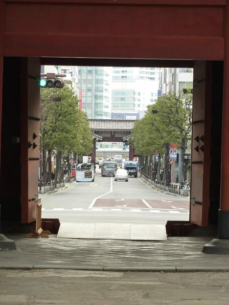 Photos: 増上寺境内から…