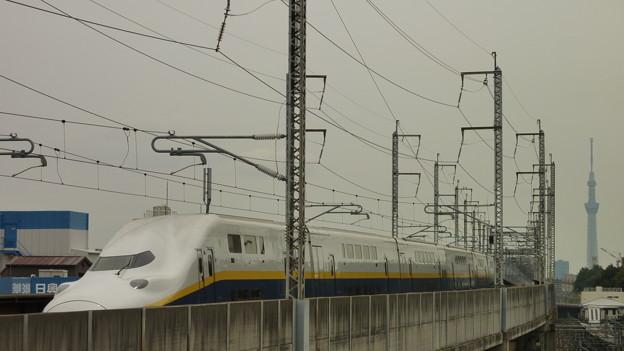 Photos: 東京スカイツリーを背後に…?