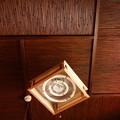写真: 茶の間の天井