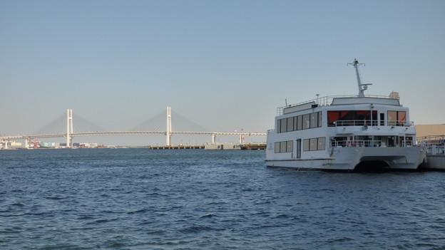 Photos: ベイブリッジを背景に…(2)