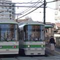 写真: 8501号車と8502号車