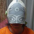 ウルトラセブン??これじゃシルバー仮面だよ。