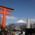 今日の富士山(2013/1/3)