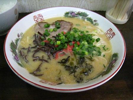 九州博多とんこつ(白)680円