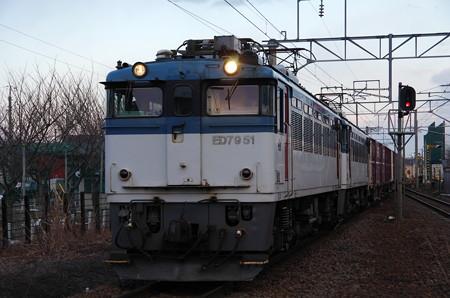 ED79+コキ50000形