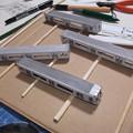 ガインエクスプローラーGEX100 列車記号GPM2 車体組み上がり状況