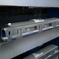 ガインエクスプローラーGEX100(列車記号GPM2)102号車 クリアー塗装までの段階