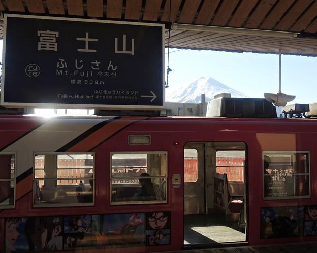 Photos: 富士が見える駅(1)