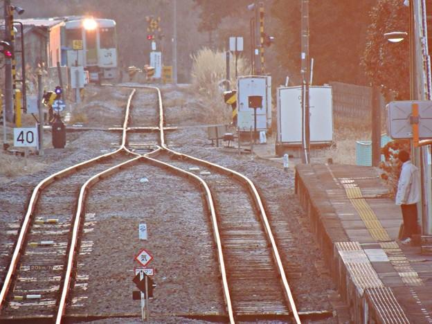 Photos: ローカル線の朝