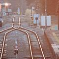 ローカル線の朝