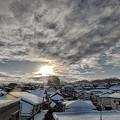 大雪去った翌朝