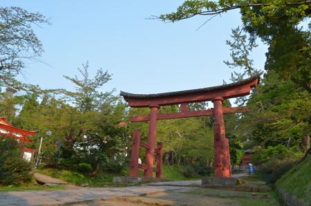 岩木山神社・三の鳥居