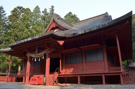 岩木山神社・拝殿