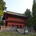 写真: 岩木山神社・楼門