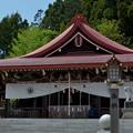 写真: 金蛇水神社・拝殿
