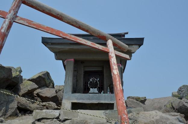 写真: 岩木山神社・奥宮