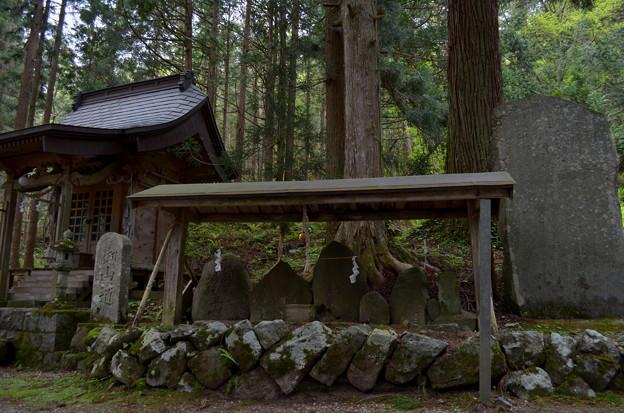 写真: 早池峰神社 大迫・神社名碑