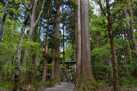 十和田神社・二の鳥居