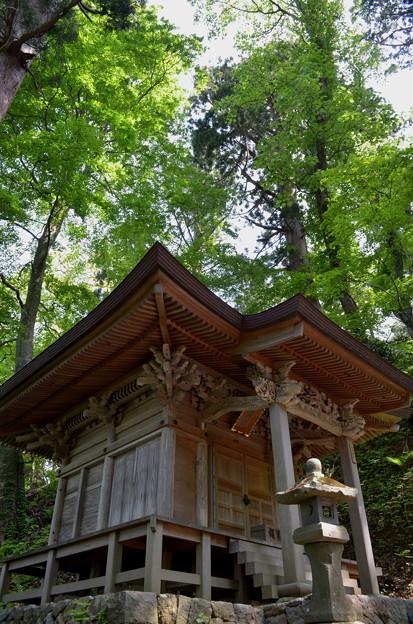 写真: 出羽神社・尾崎神社