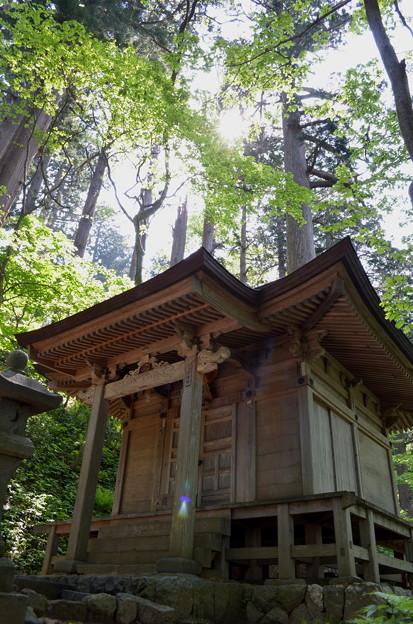 写真: 出羽神社・八幡神社