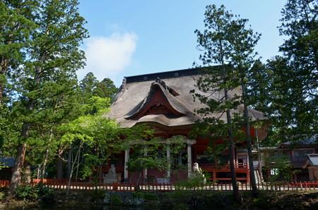 出羽神社・三神合祭殿