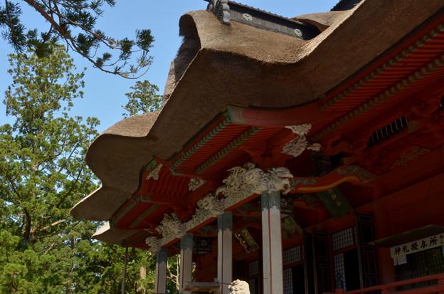 写真: 出羽神社・三神合祭殿