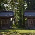 写真: 出羽神社 大雷神社・健角身神社