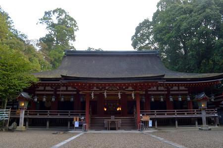 石上神宮・拝殿