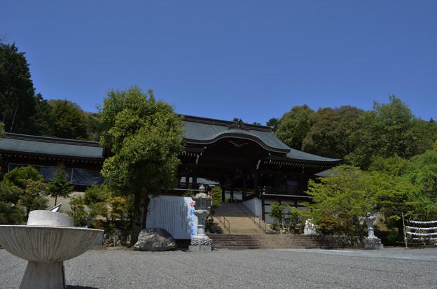 写真: 外拝殿