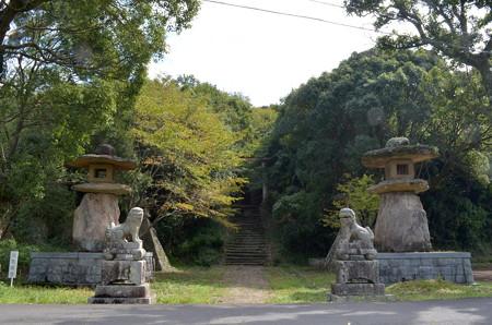 大尾神社-鳥居