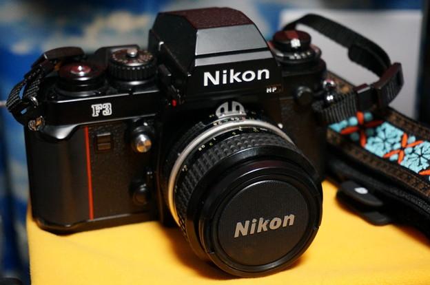 写真: Nikon F3HP